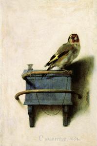The Goldfinch, Carel Fabritius (1654)
