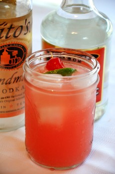 Watermelon Squeeze Cocktail